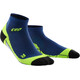 cep Low Cut Running Socks Men green/blue